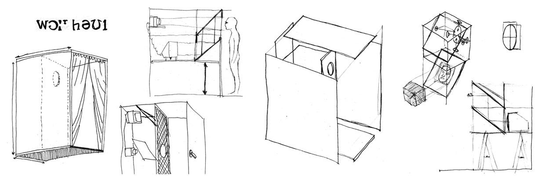 Construir un objeto/artefacto que permita/impida verse a sí mismo, como obra de arte.